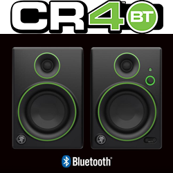 "Mackie CR4BT 4"" Multimedia Monitor with Bluetooth (Pair) - L.A. Music - Canada's Favourite Music Store!"