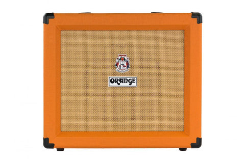 "Orange CRUSH35RT Twin channel solid state Crush 1x10"" combo with CabSim headphone out, digital reverb & tuner, 35 Watts - L.A. Music - Canada's Favourite Music Store!"