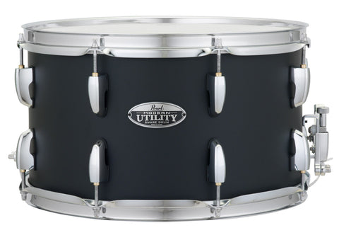 Pearl MUS1480M 14 X 8 MODERN UTILITY SNARE DRUM Satin Black - L.A. Music - Canada's Favourite Music Store!