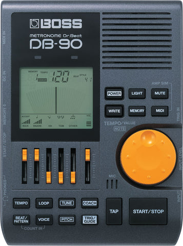 Used Boss DB-90 Metronome