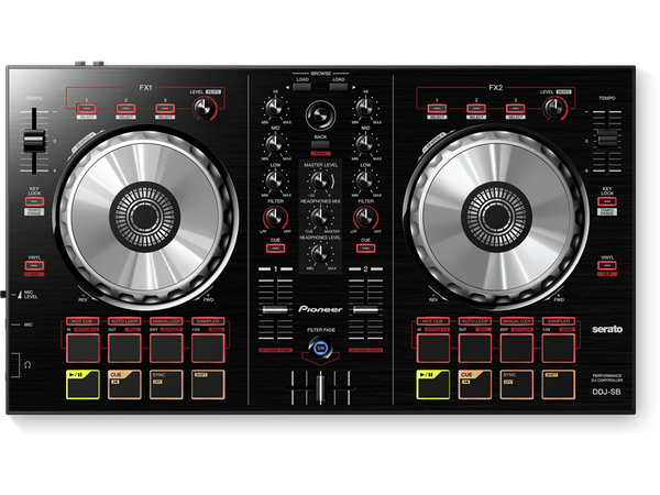 2 Channel Software Controller for Serato DJ Intro Software