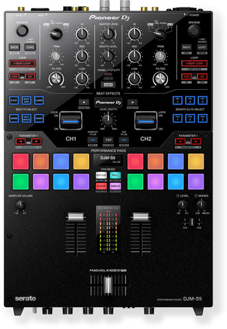 Pioneer DJM-S9 Share Professional 2-channel battle mixer (black) - L.A. Music - Canada's Favourite Music Store!