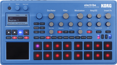 Korg Music Production Station with KingKorg synth engine ELECTRIBE2BL - L.A. Music - Canada's Favourite Music Store!