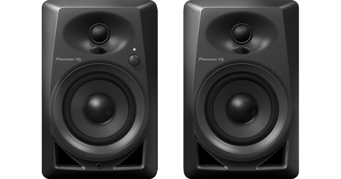 Pioneer DJ DM-40 4in Active Desktop Monitors (Pair) - Black