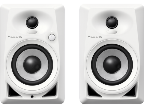 Pioneer DJ DM-40 4in Active Desktop Monitors (Pair) - White