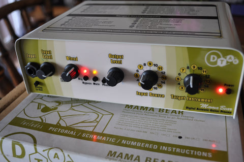 D-Tar Mama Bear Digital Acoustic Guitar Preamp