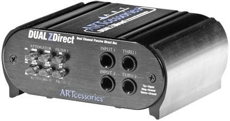 2 CHANNEL PASSIVE DIRECT BOX - L.A. Music - Canada's Favourite Music Store!