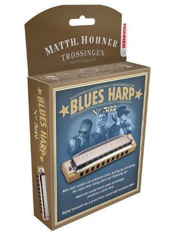 Hohner - Blues Harp F#