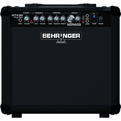 Behringer GTX30 30 Watt Guitar Amplifier  With 2 Channels