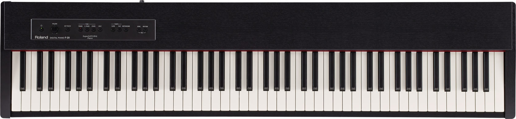 Roland F20 Digital Piano - Contemporary Black Stand not Included
