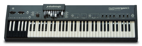 Studiologic NUMA-ORGAN2 73 key waterfall action First octave, reverse colored keys