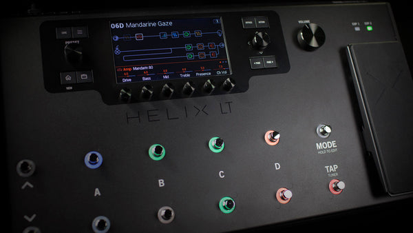Line 6 Helix LT Amp and FX Pedal Board Multi Effects NEW - IN STOCK NOW!!