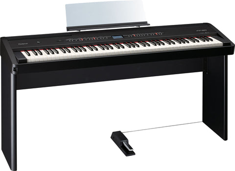 Roland FP-80-BKWS Black Digital Piano w/ Stand OPEN BOX 1 ONLY!