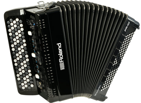 Roland FR4XBBK V-Accordion Button Style - Black