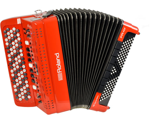 Roland FR4XBRD V-Accordion Button Style - Red