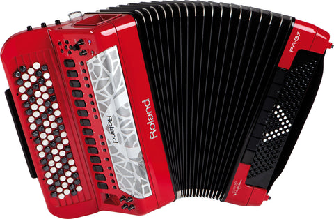 Roland FR-8XB-RD Red V-Accordion Button Style