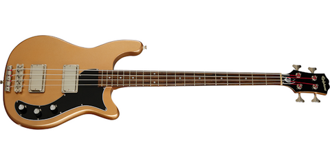 Epiphone Embassy 4 String bass EBEMSANH Smoked Almond Metallic