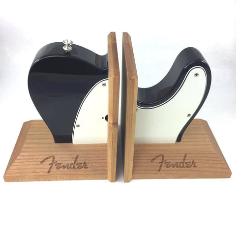 Fender 9124784000 Bookends Fender Telecaster Black - L.A. Music - Canada's Favourite Music Store!