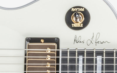 Gibson Alex Lifeson Es Les Paul Signature Guitar Classic White