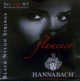 Hannabach 828MT Flamenco High Tension Black Nylon Guitar strings