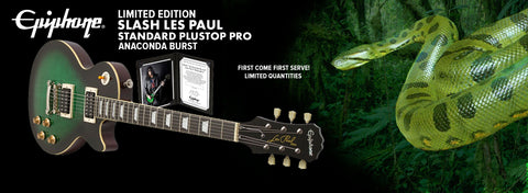 Epiphone Limited Edition Slash Anaconda Les Paul Standard Plustop Pro