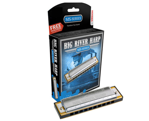 Hohner - Big River Harp Diatonic A