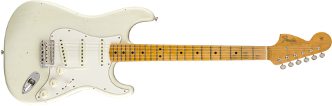 FENDER Jimi Hendrix Custom Shop Voodoo Child Strat - Journeyman Relic Olympic White