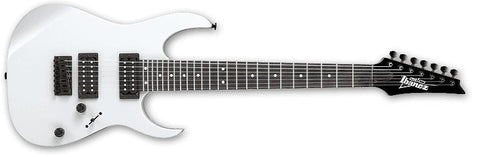 Ibanez GRG7221 WH GRG 7 String Electric Guitar White - L.A. Music - Canada's Favourite Music Store!