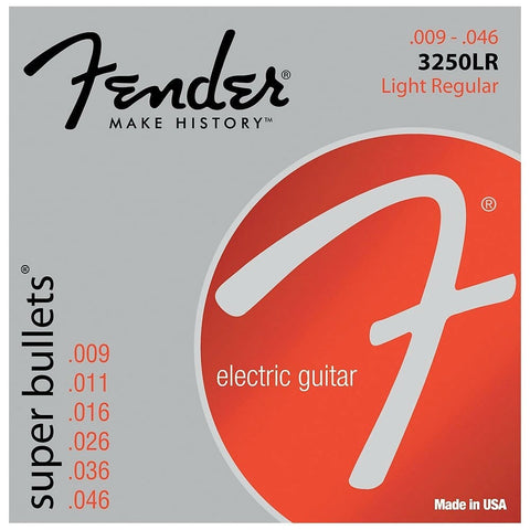 Fender 3250LR NPS BULLET 9-46 F-0733250404 - L.A. Music - Canada's Favourite Music Store!
