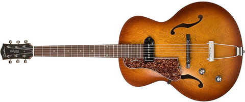 Godin Guitars 5th Avenue Kingpin Cognac Burst P90 Left-Handed 037728 - L.A. Music - Canada's Favourite Music Store!