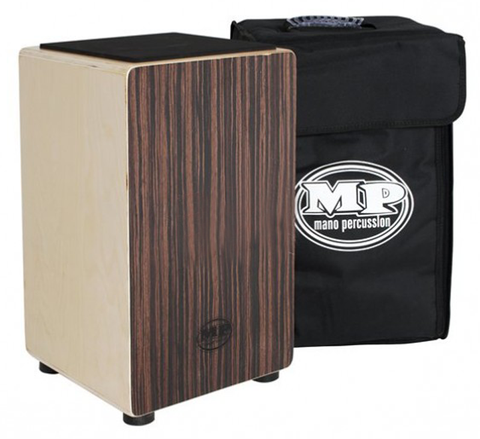 Mano Percussion MP-985E Cajon With Bag, Ebony - L.A. Music - Canada's Favourite Music Store!