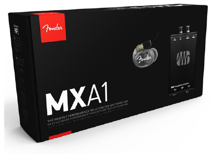 Fender MXA1 Bundle Fender DXA1 In-Ear Monitors, PreSonus HP2 Headphone Amp F-6899000001