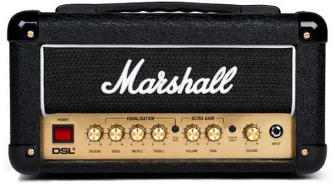 Marshall DSL1HR 1 Watt Guitar Amplifier HEAD