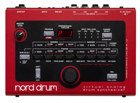 Nord Drum 4-channel Drum Synthesizer - L.A. Music - Canada's Favourite Music Store!