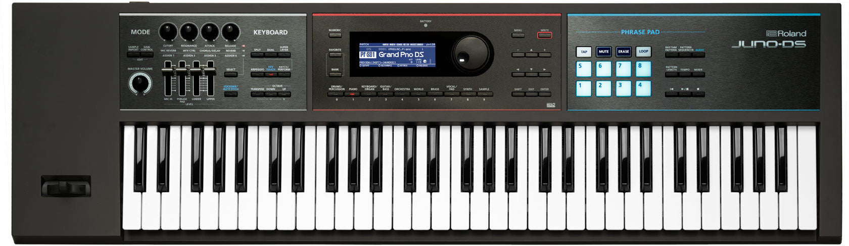 Roland JUNO-DS61 61-key Synthesizer | L A  Music - Canada's