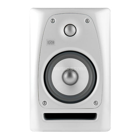 "KRK RP5-G3-W 5"" Studio Monitor 120V White Noise Finish LIMITED EDITION - L.A. Music - Canada's Favourite Music Store!"