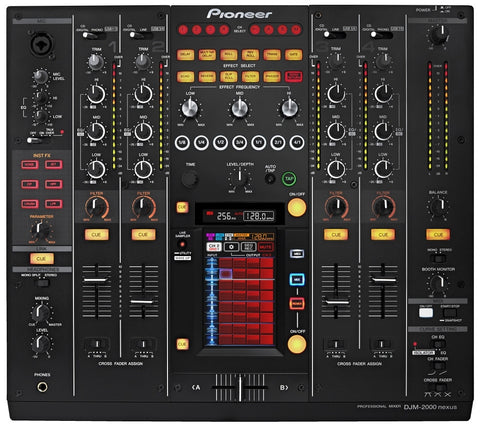4 Channel Pro DJ Mixer with Multi-Touch Screen & MIDI