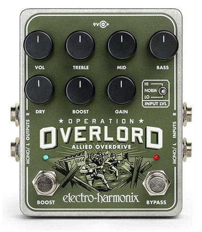 Electro Harmonix Operation Overlord Stereo Overdrive/Distortion Pedal - L.A. Music - Canada's Favourite Music Store!