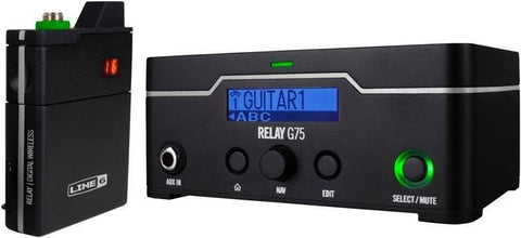 Line 6 Relay G75 Table Top Wireless L6G75 - L.A. Music - Canada's Favourite Music Store!