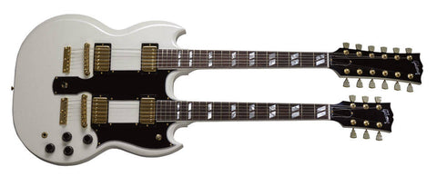 Gibson DSEDAWCH EDS1275 DOUBLE NECK ANTIQUE WHITE - L.A. Music - Canada's Favourite Music Store!