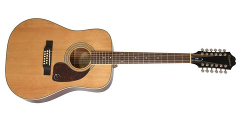 Epiphone DR 212 12 String Acoustic Guitar Natural DR212NACH