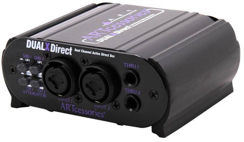 2 CHANNEL ACTIVE DIRECT BOX