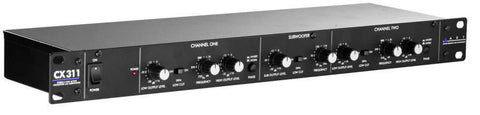 ART 2 WAY STEREO XOVER W/SUB OUT - L.A. Music - Canada's Favourite Music Store!