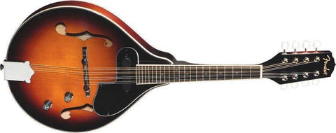 "Fender FM-52E Mandolin, Electric, ""A"" Style, Special Design Single-Coil Pickup, Spruce top 955205032"