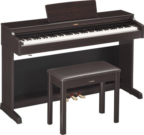 Yamaha YDP163 Arius Digital Piano with Bench - Rosewood