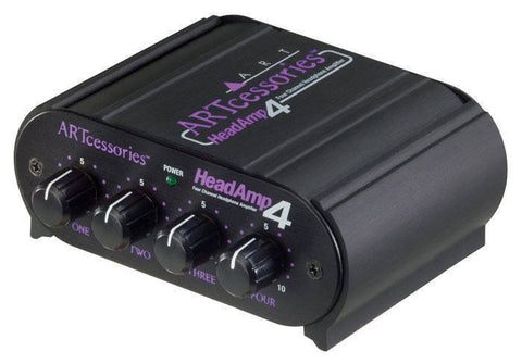 ART -4 CHANNEL HEADPHONE AMP