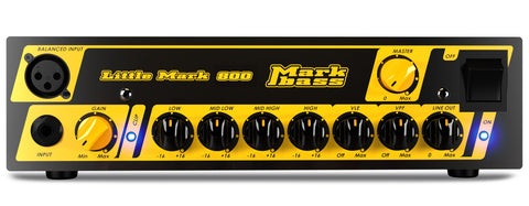 Markbass LITTLEMARK 800 800W Bass amp head with integrated DI