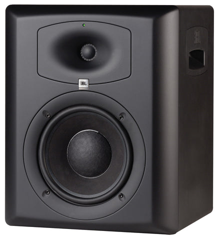 "JBL LSR6328P Bi-Amplified 8"" / 1"" 250 Watts RMS for LF, and 100 watts Studio Monitor - L.A. Music - Canada's Favourite Music Store!"