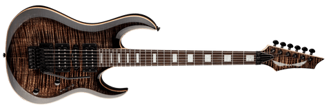 Dean Michael Batio MAB3 Flame Top in Trans Black