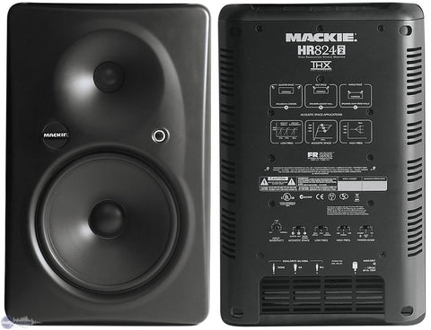 "Mackie HR824MK2 8""2 Wy High Resolution Studio Monitor - L.A. Music - Canada's Favourite Music Store!"